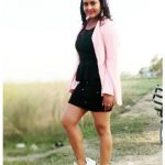 Bhojpuri actress Anjana Singh looks ravishing in a black dress