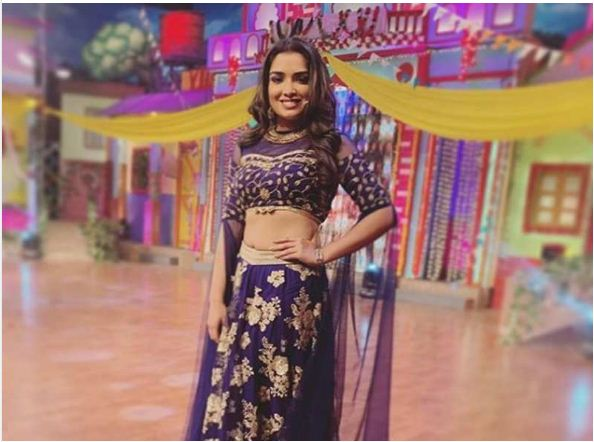 Amrapali Dubey looks adorable in her latest post