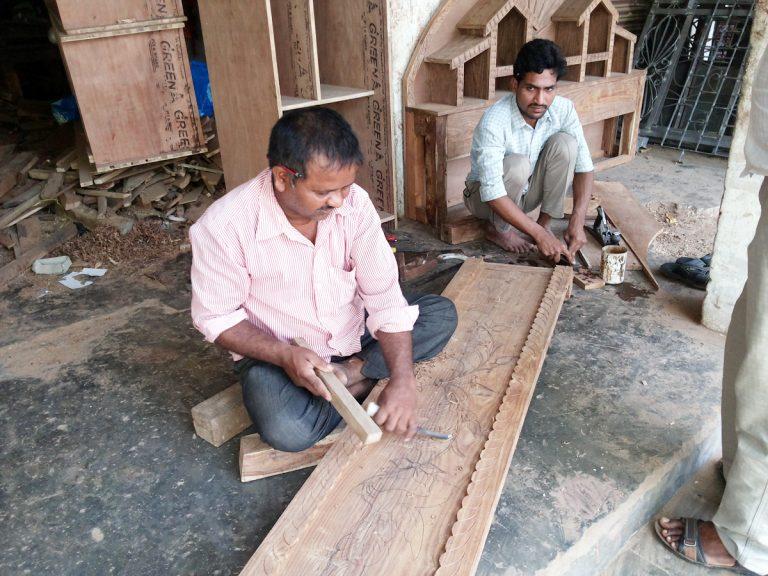 Carpentry Skills in use